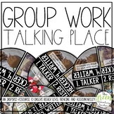 EDITABLE Group Work Talking Places