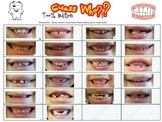 """EDITABLE """"Guess Who""""  tooth edition"""