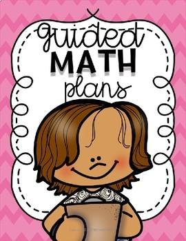 Guided Math Plans | Editable