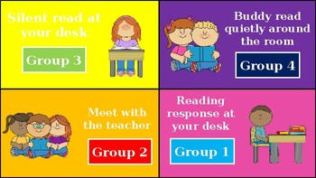 EDITABLE Guided Reading Schedule