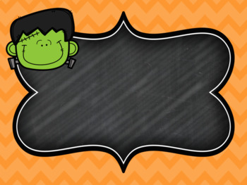 EDITABLE Halloween Powerpoint