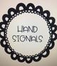 EDITABLE - Hand Signals