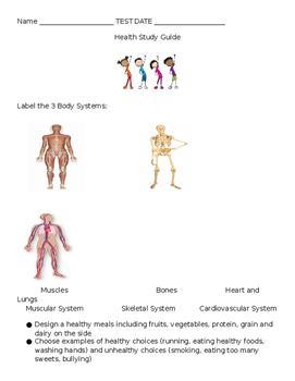 EDITABLE Health Study Guide