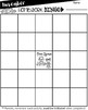 EDITABLE Homework Bingo Boards