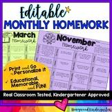 EDITABLE Homework Choice Boards for Google Slides or Powerpoint
