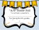 EDITABLE Honor Roll Awards (Blue & Orange)