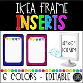 EDITABLE IKEA frames inserts
