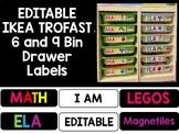 EDITABLE Ikea Trofast Bin Labels