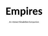 EDITABLE: Interact Empires Companion Power Point