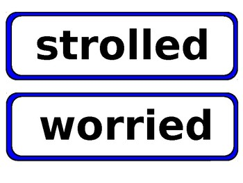 EDITABLE Journey's Vocabulary Cards