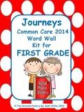 Journeys 2014 First Grade Word Wall (Polka Dot)