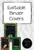 EDITABLE Jungle Themed Binder Covers