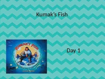EDITABLE Kumak's Fish powerpoint and interactive notebook