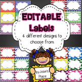 Labels  for the classroom (EDITABLE), word wall, book bins. Bonus: freebie!