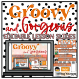 EDITABLE Lesson Pacing PowerPoint Slides Templates | Groov