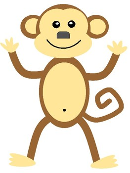 EDITABLE Let's Monkey Around Sight Word Wall Display or Matching/Memory Game.