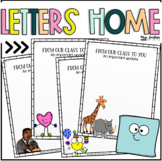 Letters Home - Parent Notice Templates {Monthly + Special
