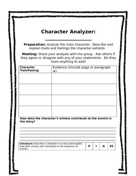 EDITABLE Literature Circle Packet