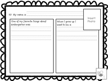 Class Memory Book--Editable
