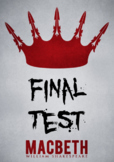 EDITABLE Macbeth Test w/ Answer Key (100 Question-Scantron)