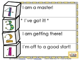EDITABLE Marzano Scales Poster with General Learning Goals