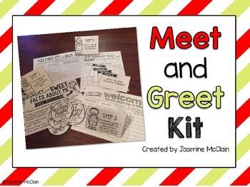 EDITABLE Meet and Greet Kit