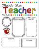 EDITABLE Meet the Teacher Letter Template Open House Letter