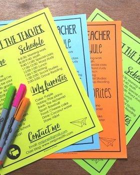 EDITABLE Meet the Teacher Templates
