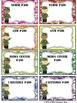 EDITABLE Military Themed Classroom Passes