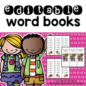 {EDITABLE} Word Books!