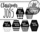 EDITABLE Modern Farmhouse Classroom Jobs