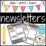 Monthly Newsletter Printable