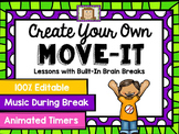 EDITABLE Move It - Brain Breaks