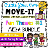 EDITABLE Move It Bundle - Fun Themes #1