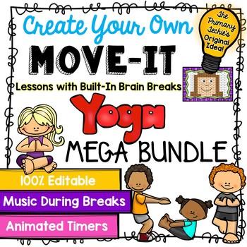 EDITABLE Move It Bundle - Yoga