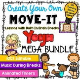 EDITABLE Move It Bundle - Yoga