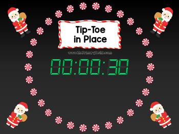 EDITABLE  Move It - Christmas Brain Breaks