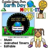 EDITABLE  Move It - Earth Day Brain Breaks