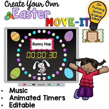 EDITABLE  Move It - Easter Brain Breaks