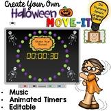 EDITABLE  Move It - Halloween Brain Breaks