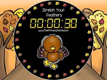 EDITABLE  Move It - Thanksgiving Brain Breaks