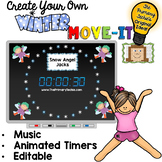 EDITABLE  Move It - Winter Brain Breaks