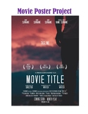 EDITABLE Movie Poster Project for Literature Circles