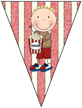 EDITABLE Movie Themed Bunting/Banner