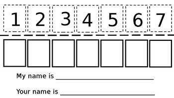 EDITABLE Mystery Name Template (Can be used with Building Blocks)