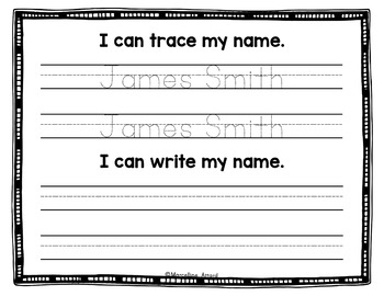 NAME PRACTICE EDITABLE SHEETS PRESCHOOL (NAME ACTIVITIES ...
