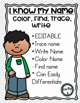 EDITABLE Name Color, Trace, Find, Write,