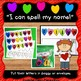 EDITABLE Name Practice Activity for Valentine's Day