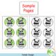 Name Tags | Pandas | Editable