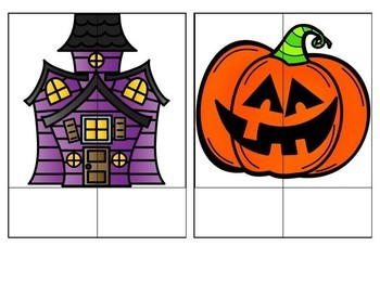 EDITABLE Name and Word Puzzles - Halloween